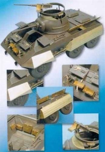 Американский бронеавтомобиль М8 (для Tamiya) - фото 77182