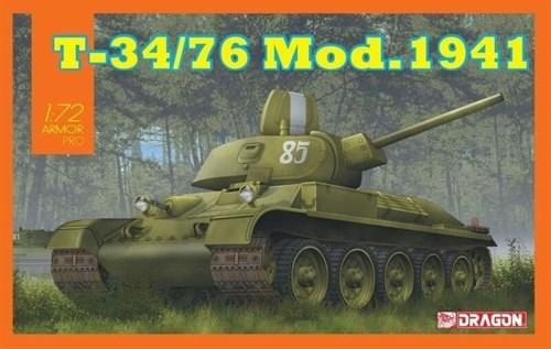 Танк T-34/76 Mod.1941  (1:72) - фото 79073