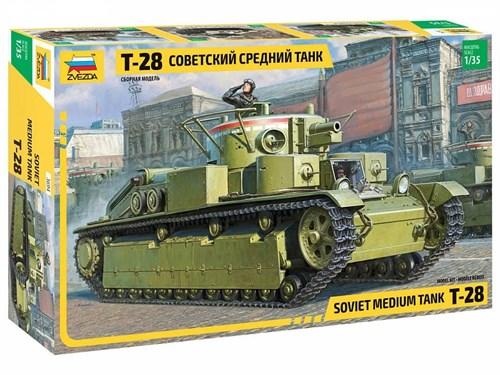 Советский средний танк T-28 - фото 79123