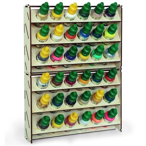 Набор подставка для красок 36 баночек (Vallejo) - фото 79138