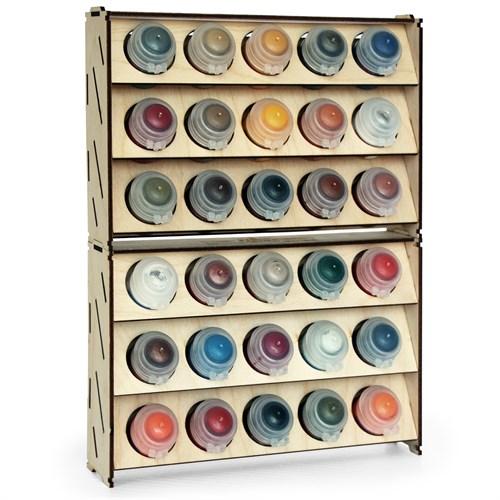 Набор подставка для красок 30 баночек (Citadel) - фото 79149