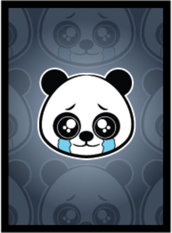 Sad Panda Matte Sleeves 50 - фото 79251
