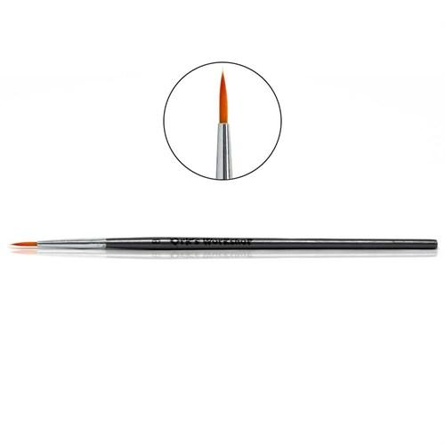 Кисть Ork's Workshop круглая синтетическая с оцинкованной ручкой №8 - фото 79888