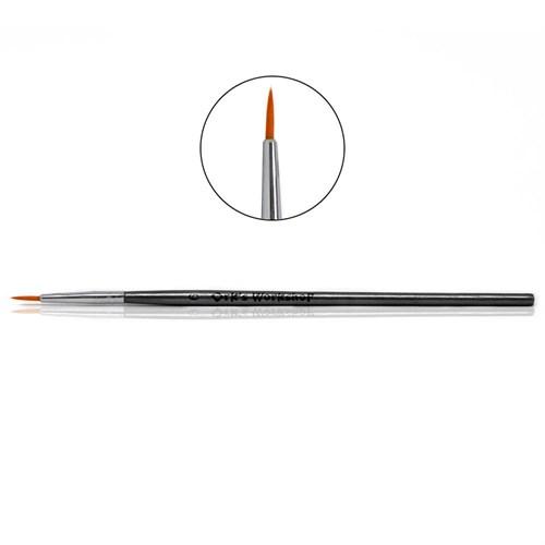 Кисть Ork's Workshop круглая синтетическая с оцинкованной ручкой №6 - фото 79890