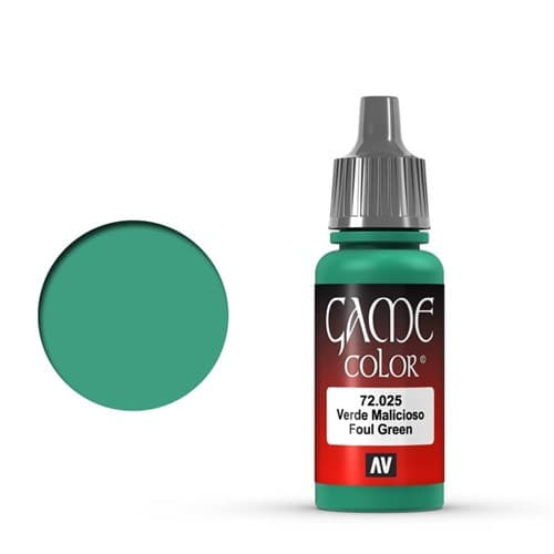 Game Color Foul Green 17 ml. - фото 79905