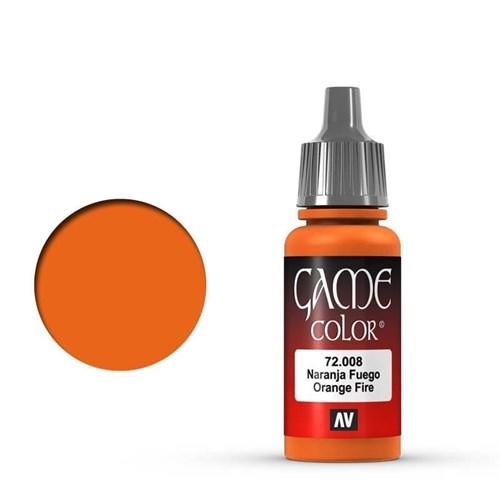 Game Color Orange Fire 17 ml. - фото 79906