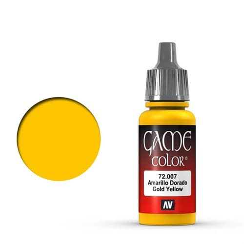 Game Color Gold Yellow 17 ml. - фото 79907