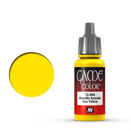 Game Color Sun Yellow 17 ml. - фото 79920