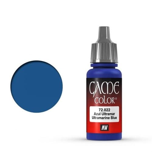 Game Color Ultramarine Blue 17 ml. - фото 79928