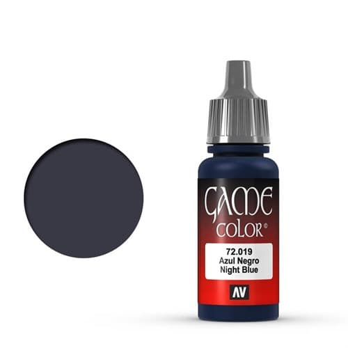 Game Color Night Blue 17 ml. - фото 79929