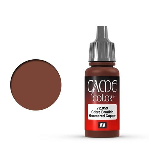 Game Color Hammered Copper 17 ml. - фото 79940