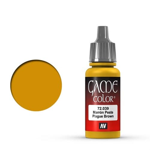 Game Color Plague Brown 17 ml. - фото 79952