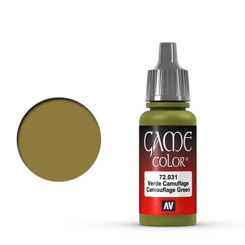 Game Color Camouflage Green 17 ml. - фото 79956
