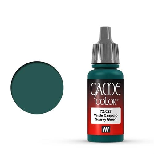 Game Color Scurvy Green 17 ml. - фото 79957