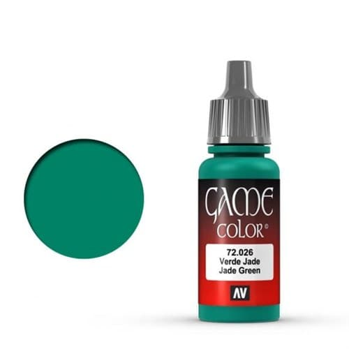 Game Color Jade Green 17 ml. - фото 79958