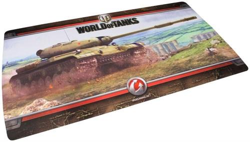"""World of Tanks. Коврик для мыши """"ИС-4"""" (590х345х1 мм) в подарочной упаковке - фото 80073"""