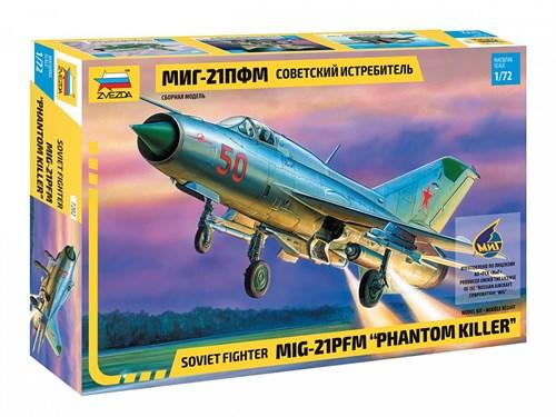 Советский истребитель МиГ-21ПФМ (ограниченная серия) - фото 80389
