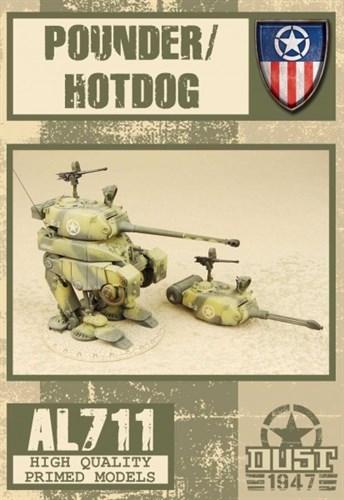 Pounder / Hotdog (Собран и загрунтован) Дробилка / Хот-дог - фото 80474