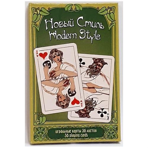 Игральные карт Новый Стиль, 55 листов - фото 84114