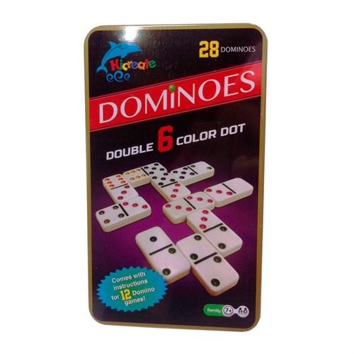 "Домино в жестяной коробке  ""Dominoes"" - фото 84557"