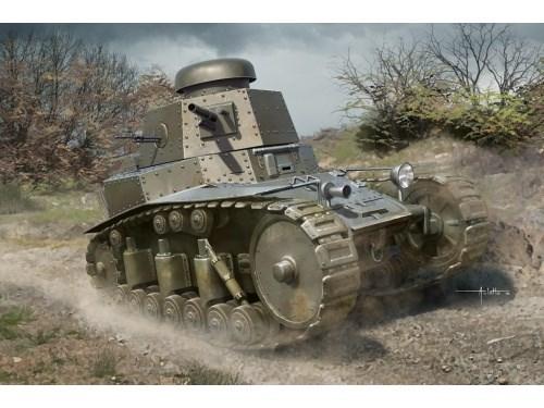 Техника и вооружение  Soviet light tank T18 MOD1927  (1:35) - фото 85337