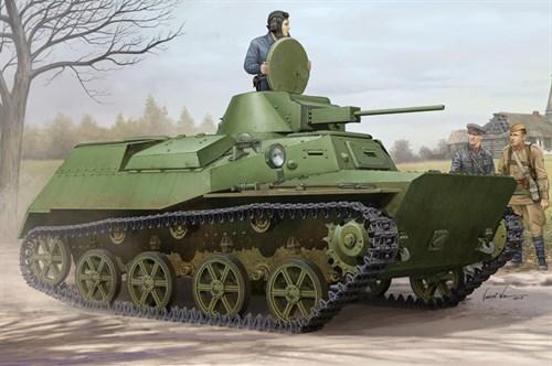 Техника и вооружение  Soviet T-30S Light Tank  (1:35) - фото 85447