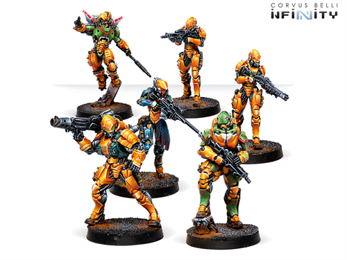 Invincible Army (Yu Jing Sectorial Starter Pack) - фото 85905