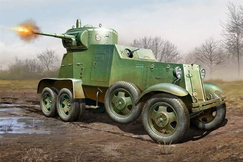 Техника и вооружение  автомобиль Soviet Ba-3 Armor Car   (1:35) - фото 86107