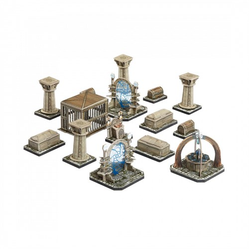 """Игровой набор из картона . """"Подземелье. Набор декора."""" - фото 88070"""