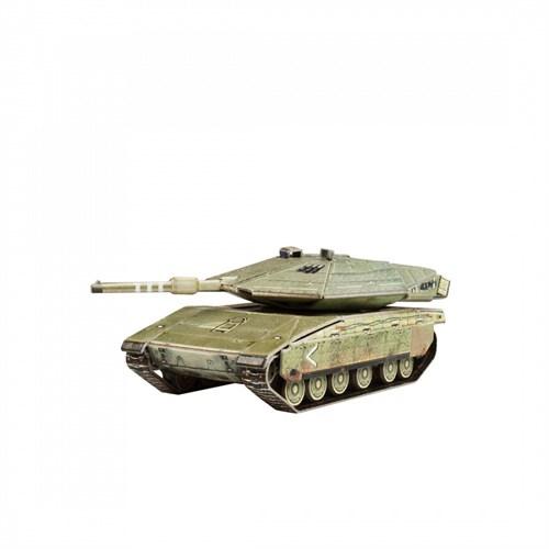Танк Merkava Mk.4 - фото 88197