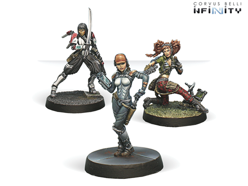 Dire Foes Mission Pack 3: Dark Mist (Caledonia VS Japanese Sectorial Army) Isobel MacGregor, Yuriko Oda, Comm-Tech (Mission Pack) - фото 89654