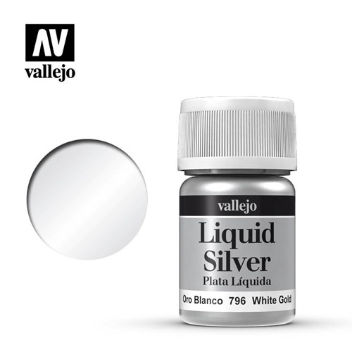 Model Color White Gold (Alcohol Based) 35 ml. - фото 89881