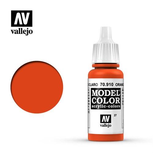 "027.""Model Color""  Красно-оранжевый. 910 - фото 89994"