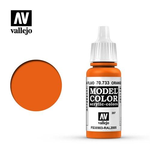 """207.""""Model Color""""  Оранж.флюоресц. 733 - фото 90137"""