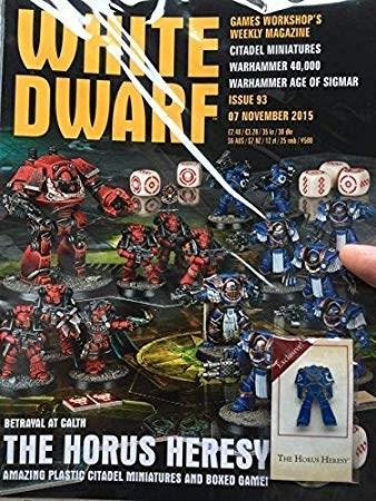 Белый Дварф Еженедельный (англ. (White Dwarf Weekly 93 - фото 90567