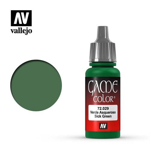 """029.""""Game Color"""" Зеленый бледный Vallejo - фото 91318"""