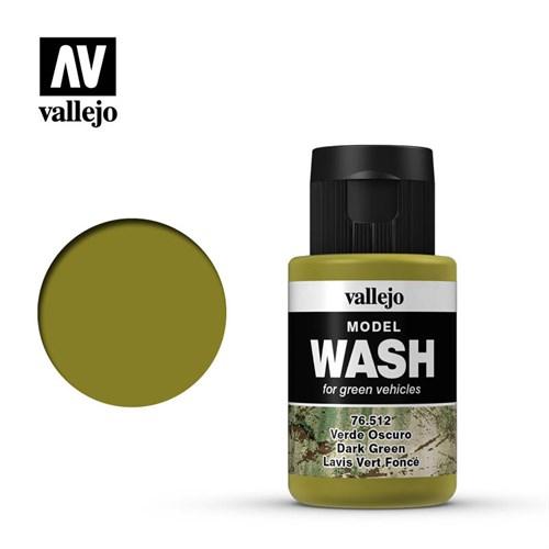 Тонирующая Жидкость Model Wash Зеленая Темная - фото 91324