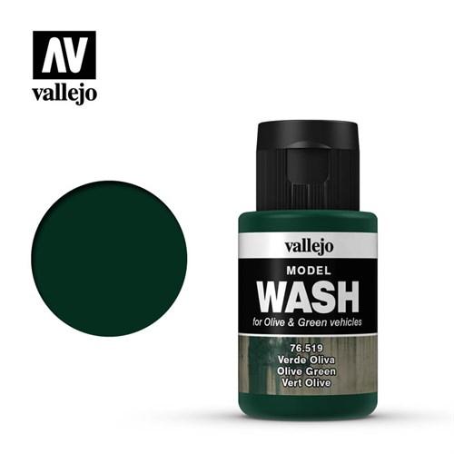 Тонирующая Жидкость Model Wash Оливковая - фото 91325