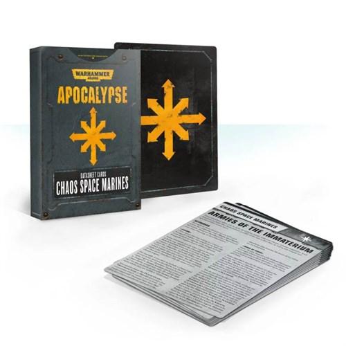 Apocalypse Datasheets: Chaos Space Marines Eng - фото 91708
