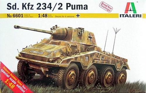 Бронеавтомобиль  Sd.Kfz. 234/2 Puma (1:48) - фото 91731