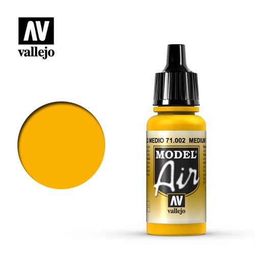 Model Air Medium Yellow 17 ml. - фото 91768