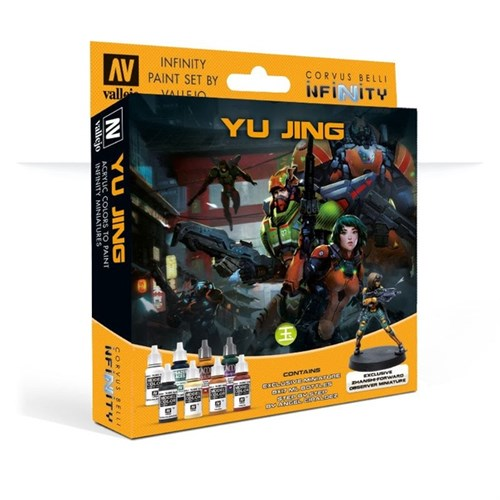 Model Color Set: Infinity Yu Jing Exclusive Miniature (Paint Accessories) - фото 91899