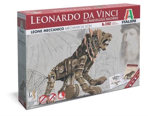 Механическая машина LEONARDO DA VINCI: Mechanical Lion - фото 92033