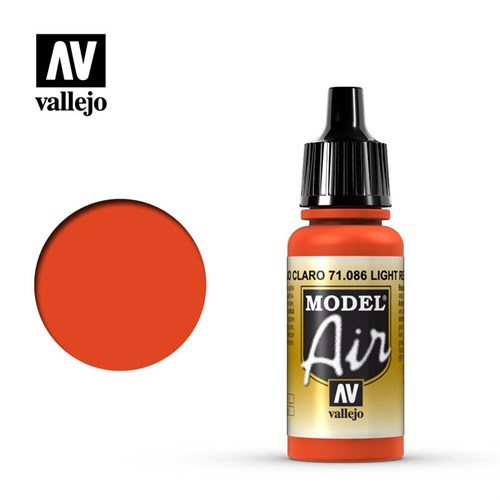 Model Air Light Red 17 ml. - фото 92307