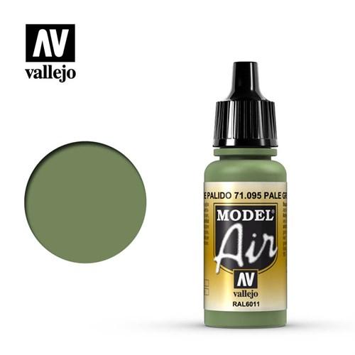 """095.  """"Model Air""""  Зеленый бледный Vallejo - фото 92339"""