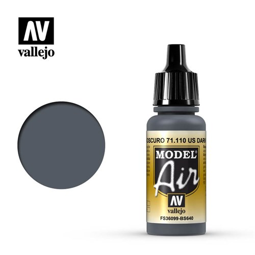 Model Air US Dark Gray 17 ml. - фото 92359