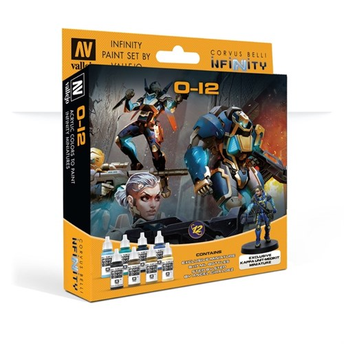 Model Color Set: Infinity O-12 Exclusive Miniature (Paint Accessories) - фото 93616