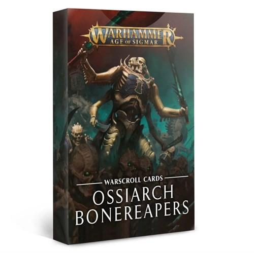 Warscroll Cards: Ossiarch Bonereapers - фото 93872