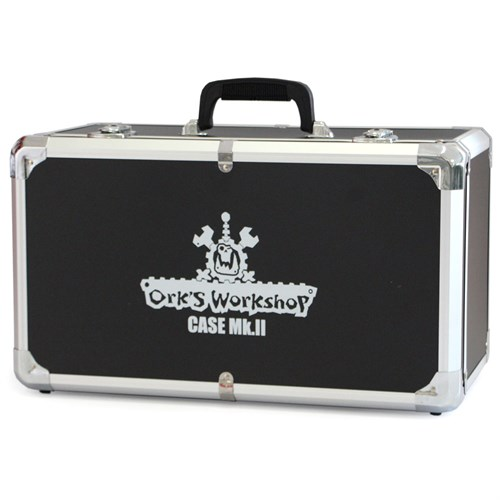 Кейс Ork's Workshop Case Mark II  (Army Transport) Чёрно- серебряный/Black&Silver - фото 94090