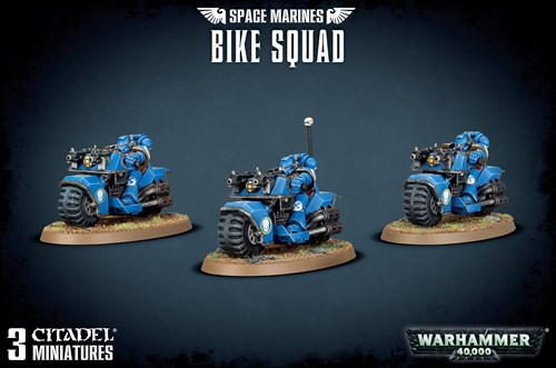 Space Marine Bike Squad - фото 94113